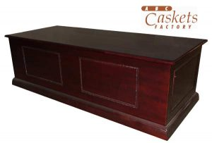 Casket Bier with Beading and High Gloss Finish