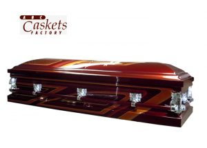 Car Club Casket, Painted by Outside Painter