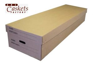 Cardboard Cremation Unit