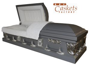 Dare Devil Metal Casket