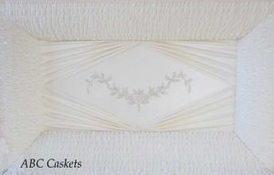Garland of Roses Panel with Diamond Ray