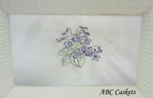 Purple Flowers Panel